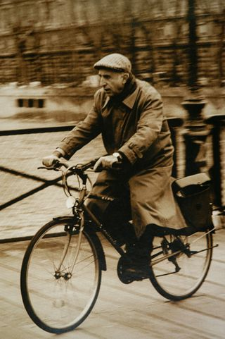 Bicycle-rider